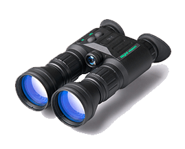 Binoculars with night vision